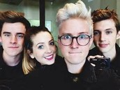 Connor with friends