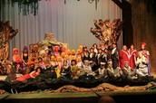 Shrek the musical cast photo