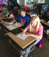 Writing letters to special people World Kindness Day!