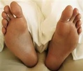Saludable pie=saludable chicos