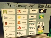 "The ""Snowy Day"" Word Bank"