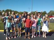 Sunday morning 7th Graders