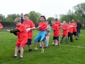 4th Grade Wins Tug-of-War