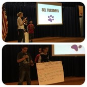 Ms. Allison's Class Presents On Complex Feelings During Tuesday SEL Assembly!