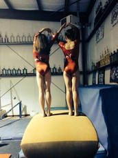 gymnastics buddies!!!