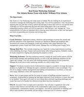 Real Estate Marketing Assistant pg. 1