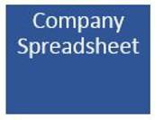 Company Spreadsheet