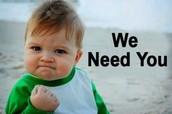 The Media Center Needs YOU!!