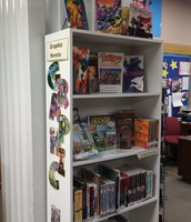 New Graphic Novels & Bookcase