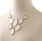 Fiona Bib Necklace - $50.00 (retail $118.00)