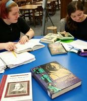 Ms. Robidoux's researchers analyzing Macbeth