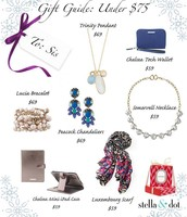 Gifts under $75!