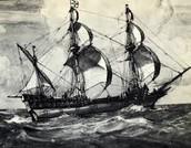 Drake's ship