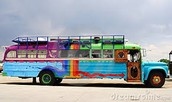 Dippy-Hippies Bus