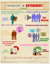 I AM INTROVERTED/EXTROVERTED