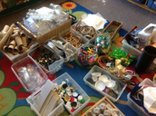 Collecting in the classroom....