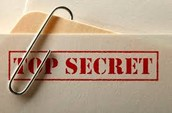 Keep your personal information top secret!!