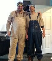 Pappy V giving Pastor Ben a Redneck makeover!!!