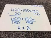 2 Step Equation