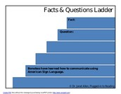 Facts and Questions Ladder