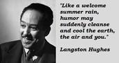 Poem by Langston Hughes