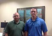 Dr.  Buddy Allen and Dr.  Eddie Arnold