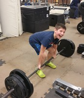 Marcus loves his deadlifts.