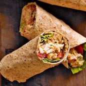 For you health people we got great wraps for you