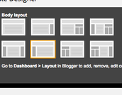 Layout-change your blog is set up