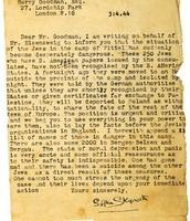 Good man letter