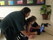 Microsoft employee visits our Coding Classrooms