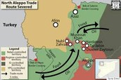 Syria trade routes