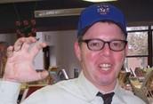 Mr. Enis, Loud Librarian!
