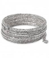 SOLD! Bardot Spiral Bangle - silver