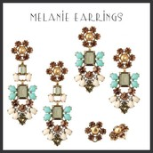 Melanie Chandelier Earrings 3 in 1 $29