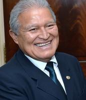 President Salvador Sanchez Ceren