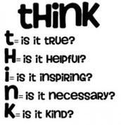 """T.H.I.N.K."""