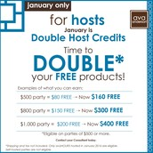 DOUBLE the FREE products