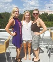 Me, Emily and Aubrey