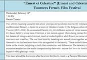 """""""Ernest en Celestine"""" French Film Festival"""