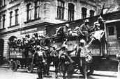 Men supporting Hitler