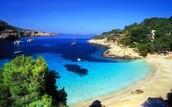 ibiza (a beach in spain)⚓🚣⛵