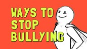 Ways to stop bullying!