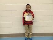 Neythan Mendez-Gil - Fourth Grade