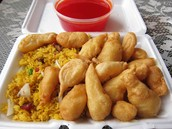 Sweet and Sour Chicken Combo