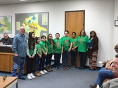 Mayor Dennis K Childress issues Proclamation in honor of Seagoville North Elementary  Destination Imagination Team
