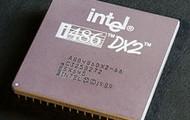 Intel 80486DX2 CPU (above)