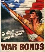 During WW2 the US government was asking for bonds