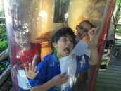 Fun at the Tornado Exhibit at the Zoo!