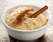 arroz con leche y canela 2.99$